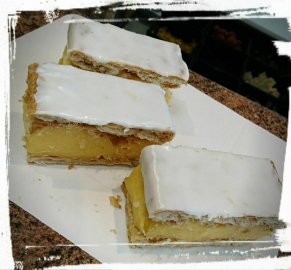 vanilla slices